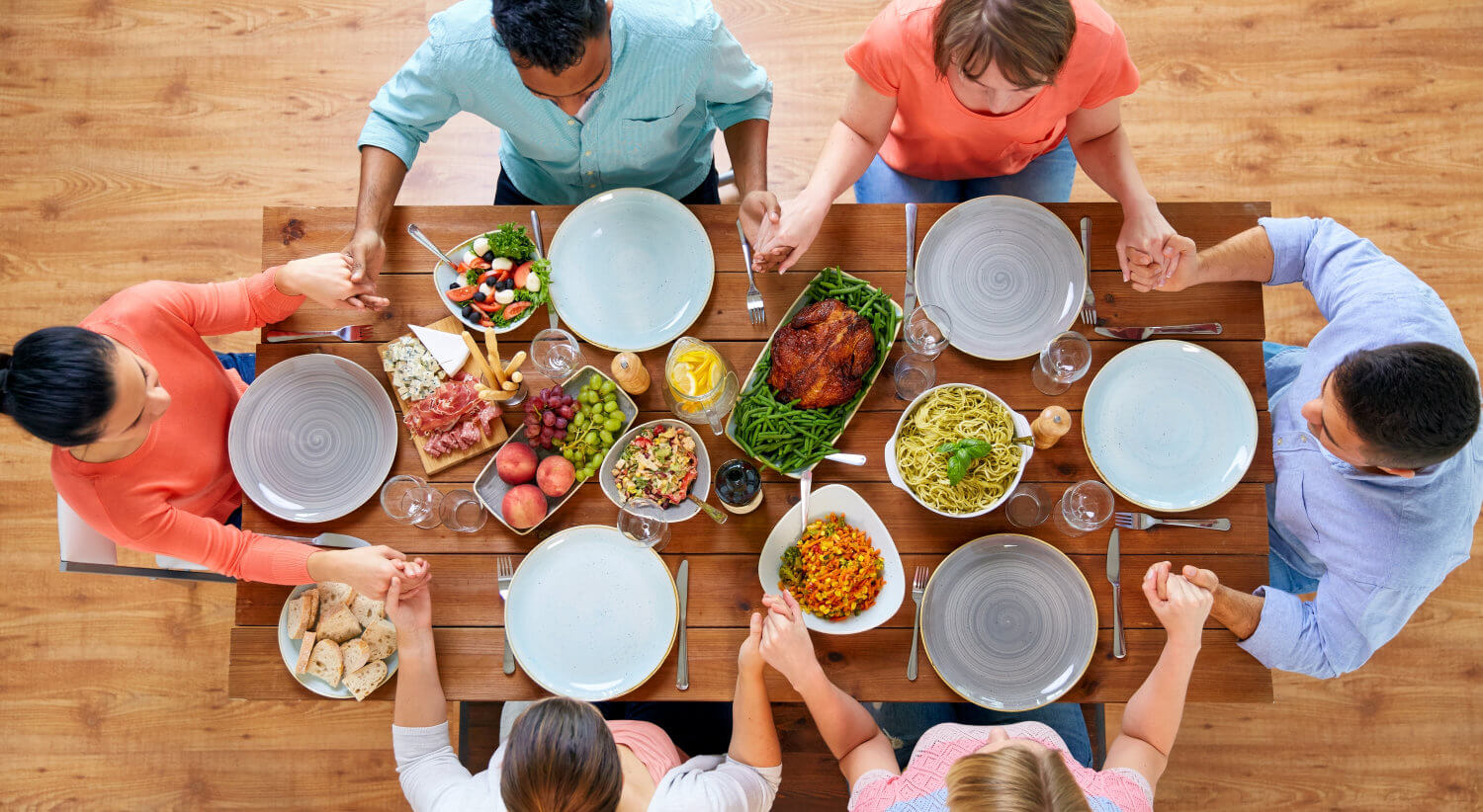 At the Thanksgiving Table, Licensed through Stock Photo Secrets