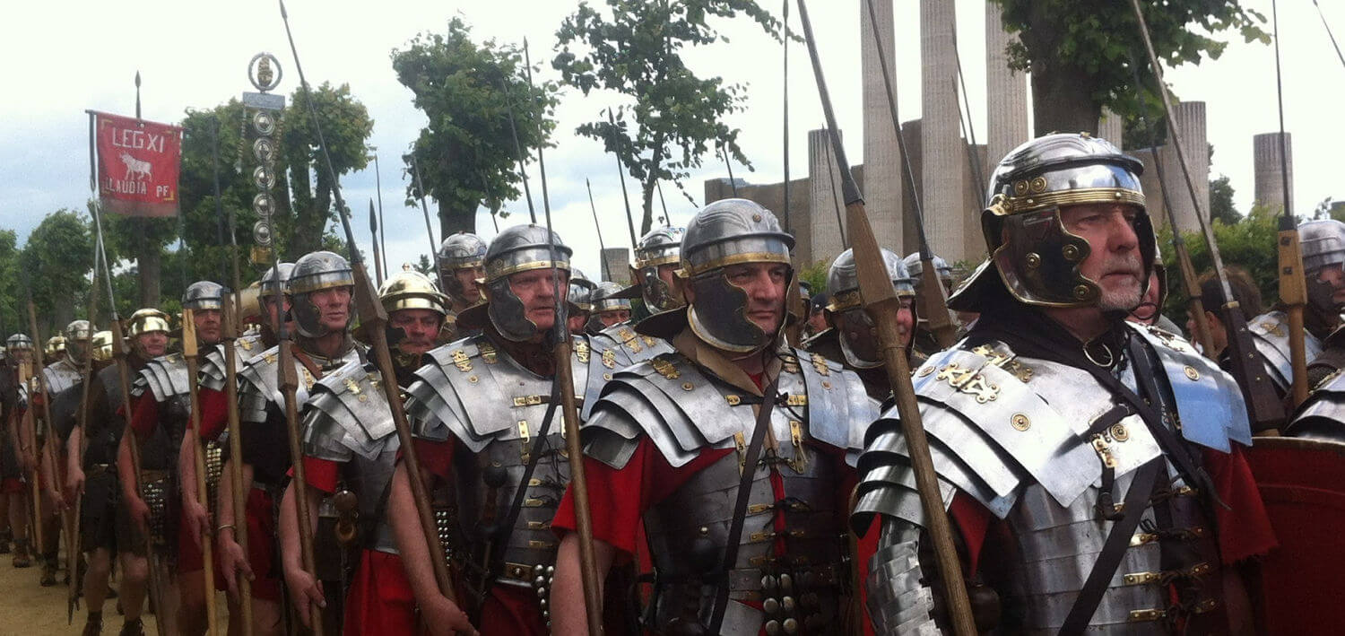 Image of a Roman Legion, Photo by Judith Meyer