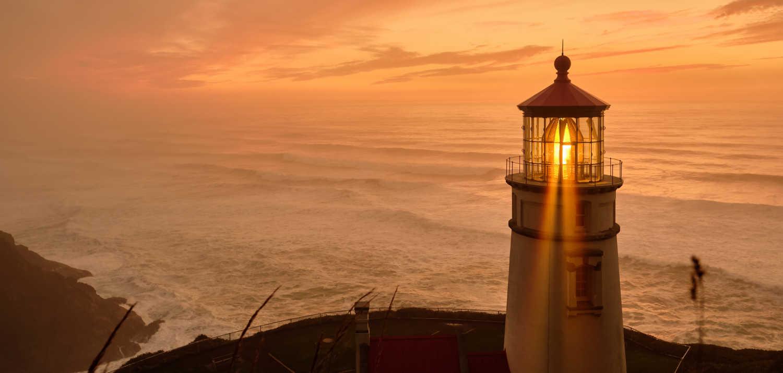 Heceta Head Lighthouse Built in 1892 (Oregon)